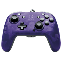 Slika proizvoda PDP Nintendo Switch Faceoff Deluxe + Audio Camo Purple