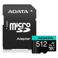 Slika proizvoda SD Card 512 GB A-DATA AUSDX512GUI3V30SA2-RA1